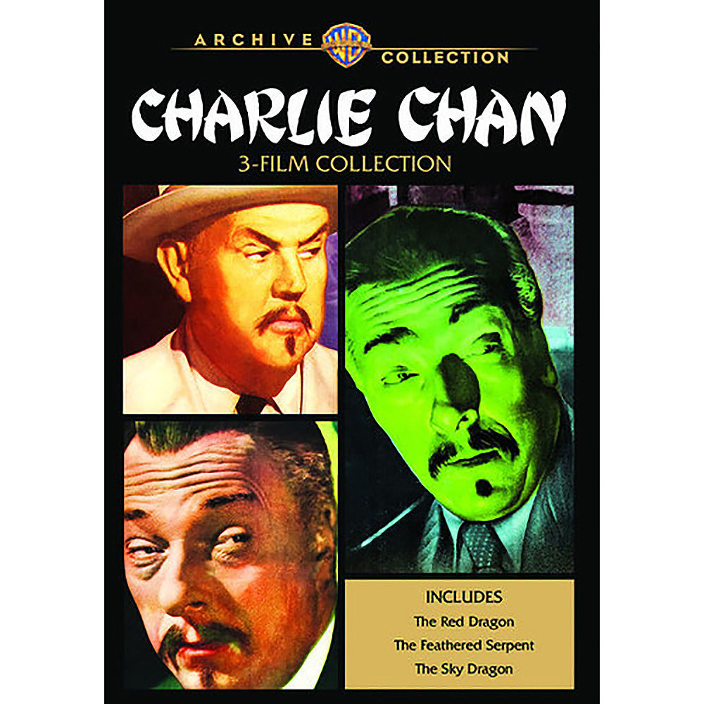 Charlie Chan 3-Film Collection (MOD)