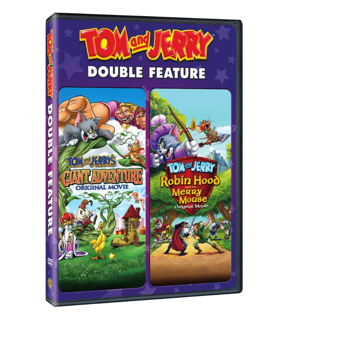 Tom and Jerry: Giant Adventure / Robin Hood and His Merry Mouse (Double Feature) (DVD)