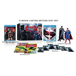 Batman v Superman: Dawn of Justice (Ultimate Edition) (Limited Edition Collector's Gift Set) (BD)