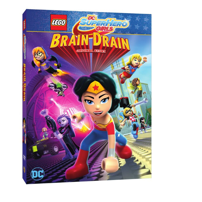 LEGO DC Super Hero Girls: Brain Drain (DVD)