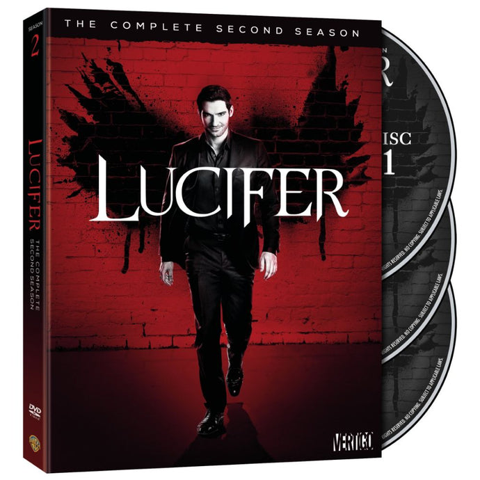 Lucifer: The Complete Second Season (DVD)