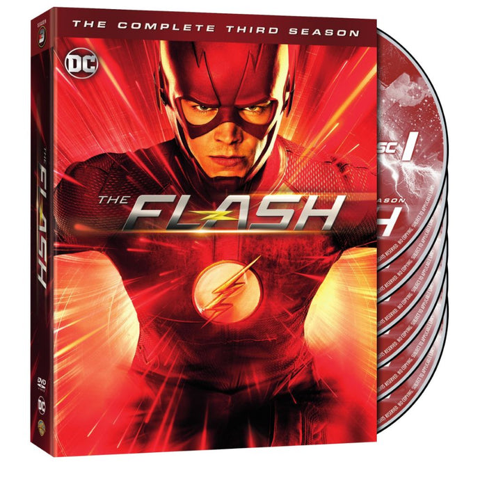 The Flash: The Complete Third Season (DVD)