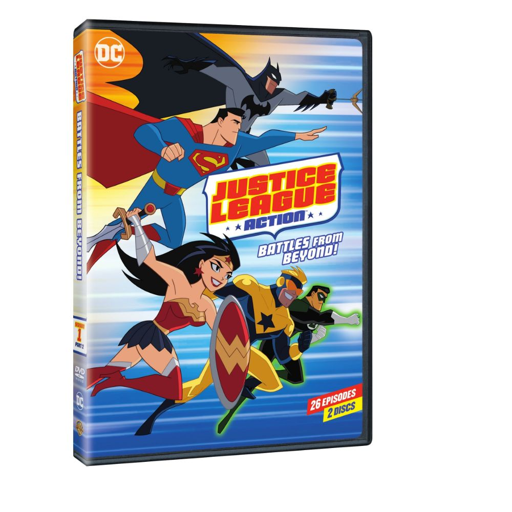 Justice League Action: Season 1 Part 2 (DVD)