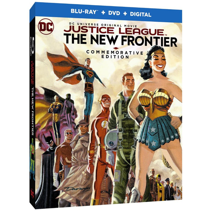 Justice League: The New Frontier (Commemorative Edition) (BD)