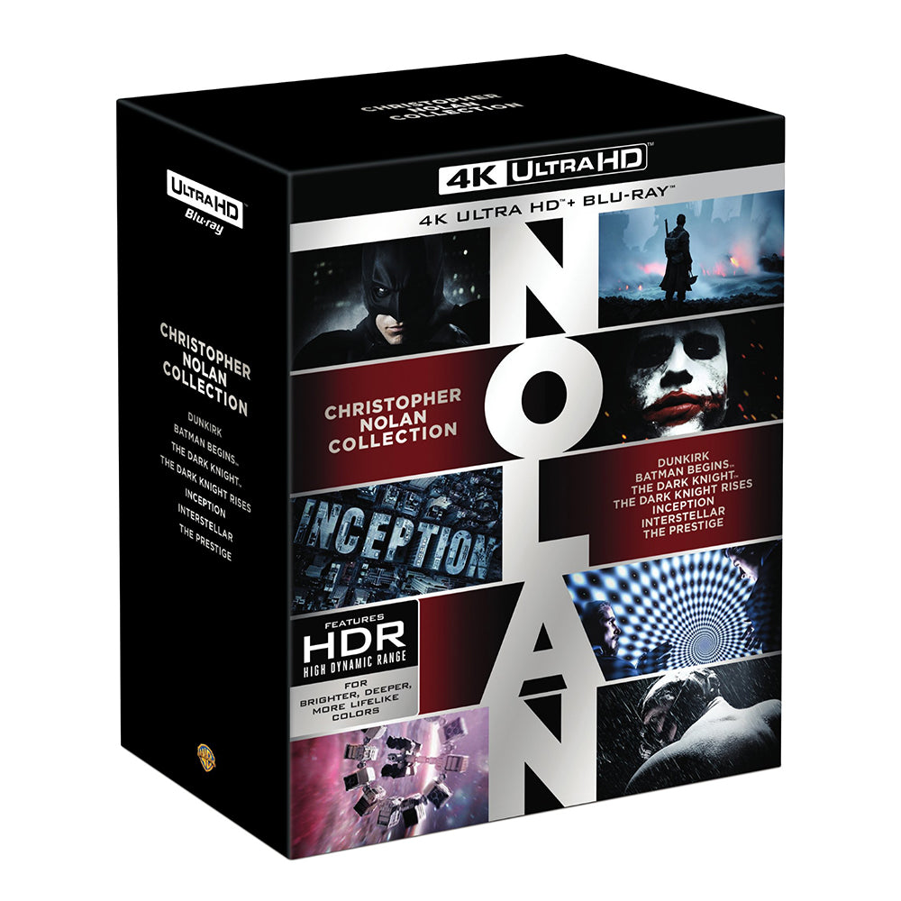 Christopher Nolan Collection (4K UHD)