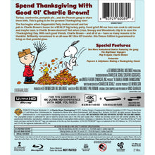 A Charlie Brown Thanksgiving (4K UHD)