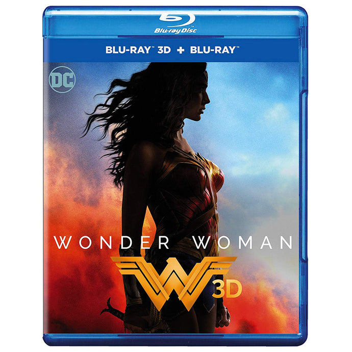 Wonder Woman 3D (Blu-ray 3D + Blu-ray)