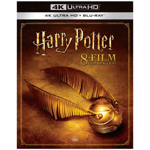 Harry Potter: Complete 8-Film Collection (4K UHD)