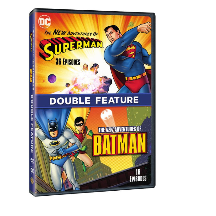 The New Adventures of Batman / The New Adventures of Superman (Double Feature) (DVD)