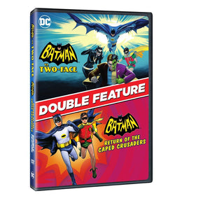 Batman vs. Two-Face / Batman: Return of the Caped Crusaders (Double Feature) (DVD)