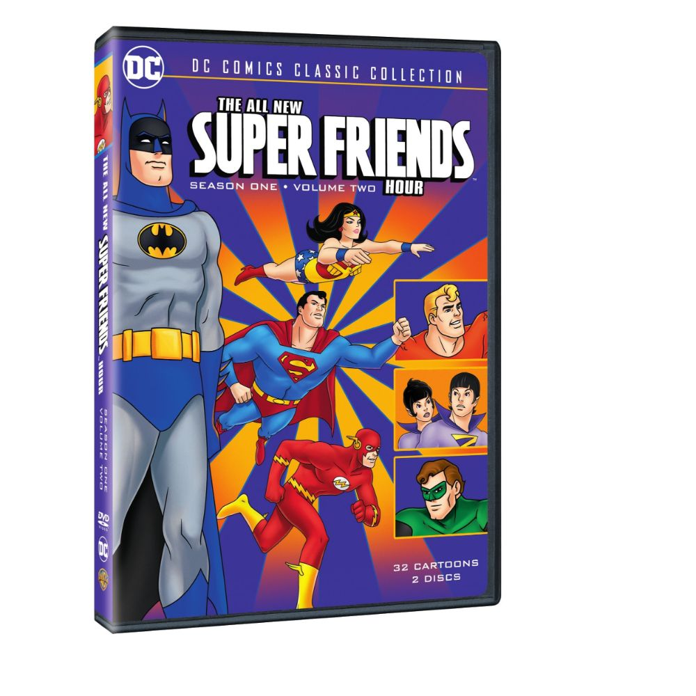 All New Super Friends Hour: Season 1 Volume 2 (DVD)