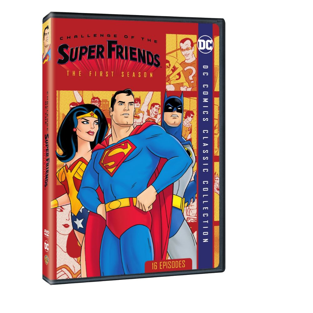 Challenge of the Super Friends: The First Season (DVD)