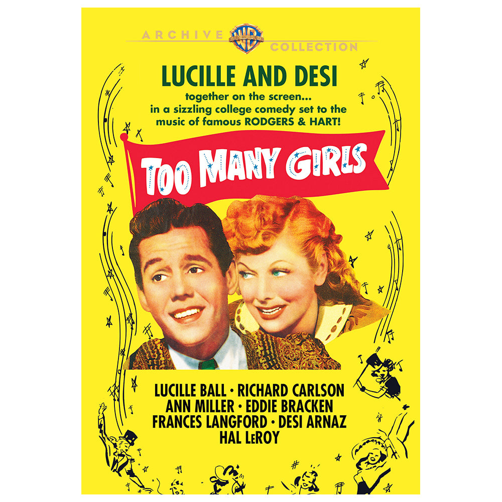 Too Many Girls (1940) (MOD)
