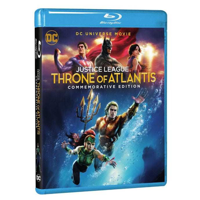Justice League: Throne of Atlantis (Commemorative Edition) (BD)