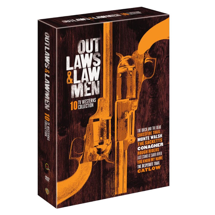 Outlaws & Lawmen - 10 TV Westerns Collection (DVD)