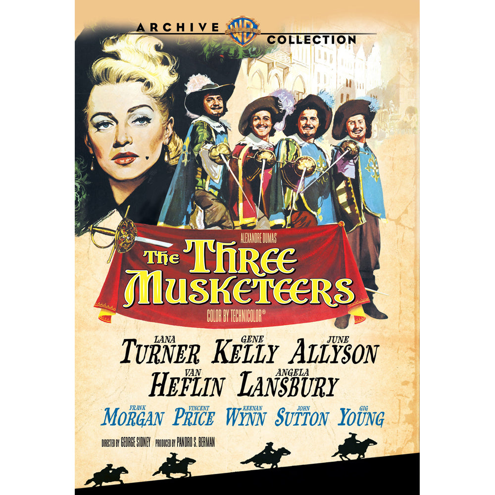 The Three Musketeers (1948) (MOD)