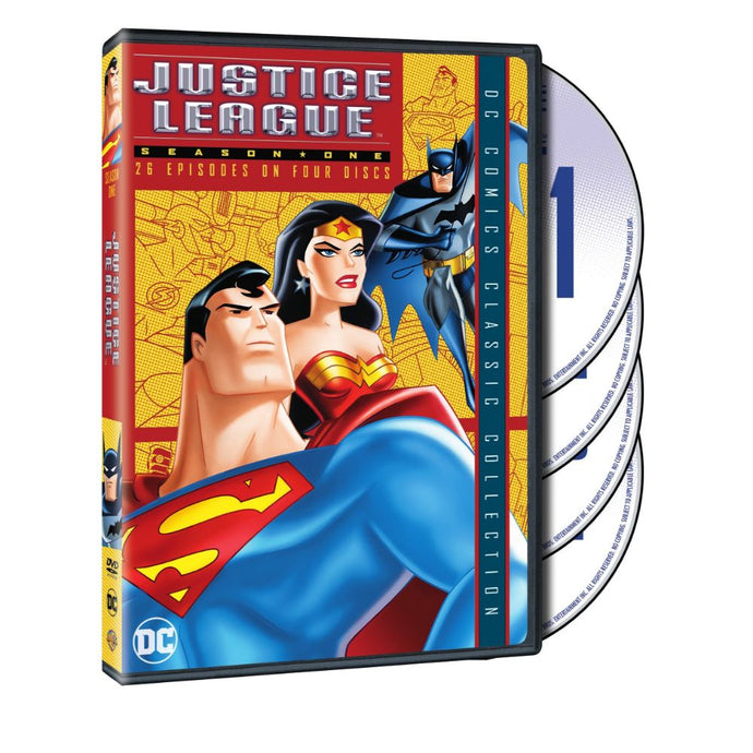 Justice League: Season 1 (DVD)