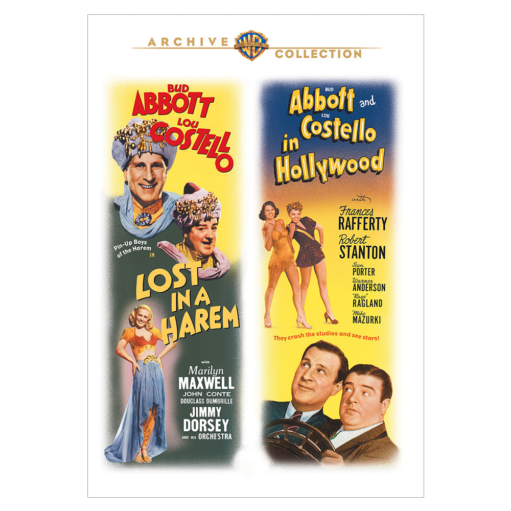 Lost in a Harem / Abbott and Costello in Hollywood (MOD)