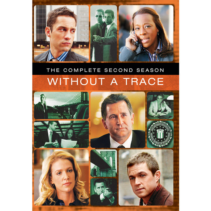 Without a Trace: The Complete Second Season (MOD)
