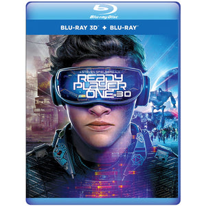 Ready Player One 3D (Blu-ray 3D + Blu-ray + Digital Combo Pack)