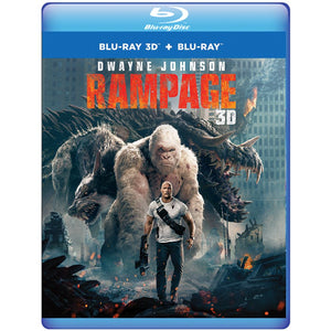 Rampage 3D (Blu-ray 3D + Blu-ray + Digital Combo Pack)