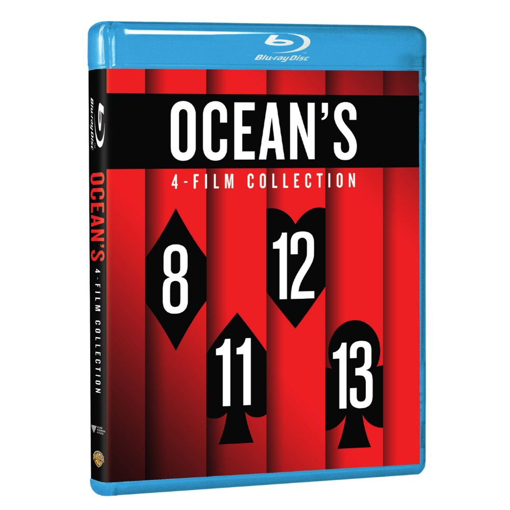 Ocean's 4-Film Collection (BD)