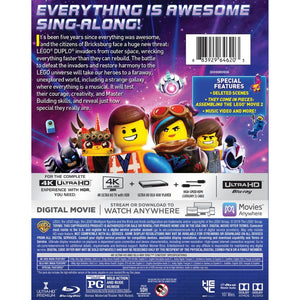 The LEGO Movie 2: The Second Part (4K UHD)