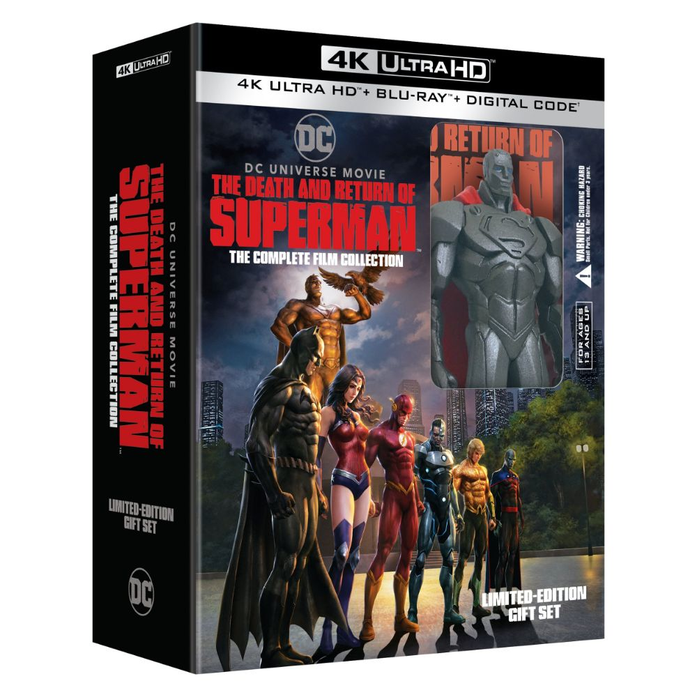 The Death and Return of Superman: The Complete Film Collection (4K UHD)