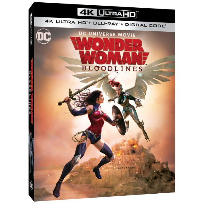 Wonder Woman: Bloodlines (4K UHD)
