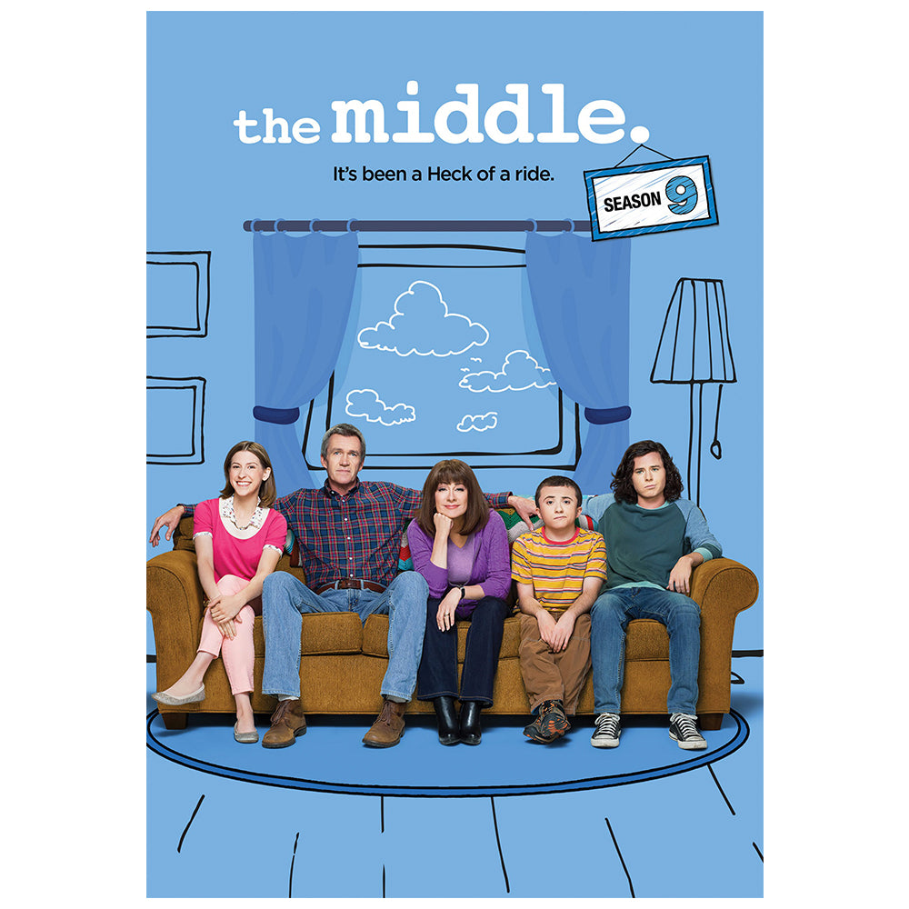 Middle, The: The Complete Ninth Season (MOD)