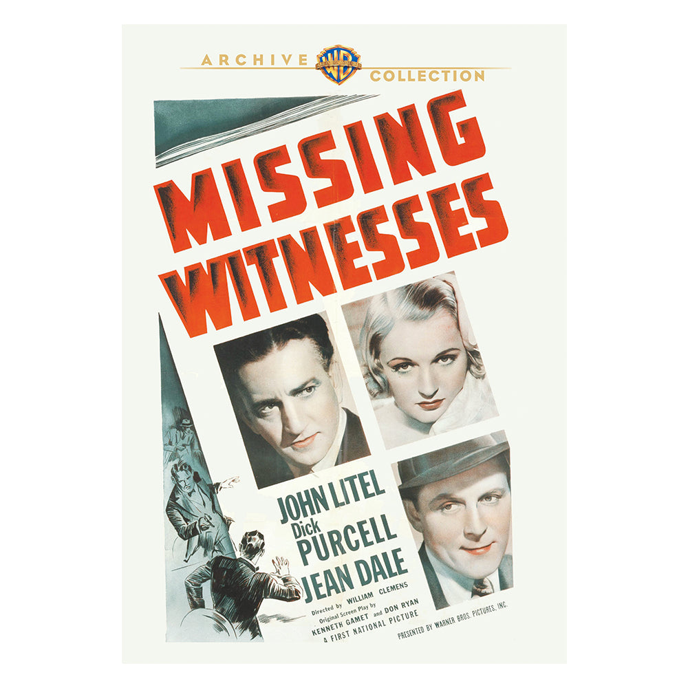 Missing Witnesses (1937) (MOD)