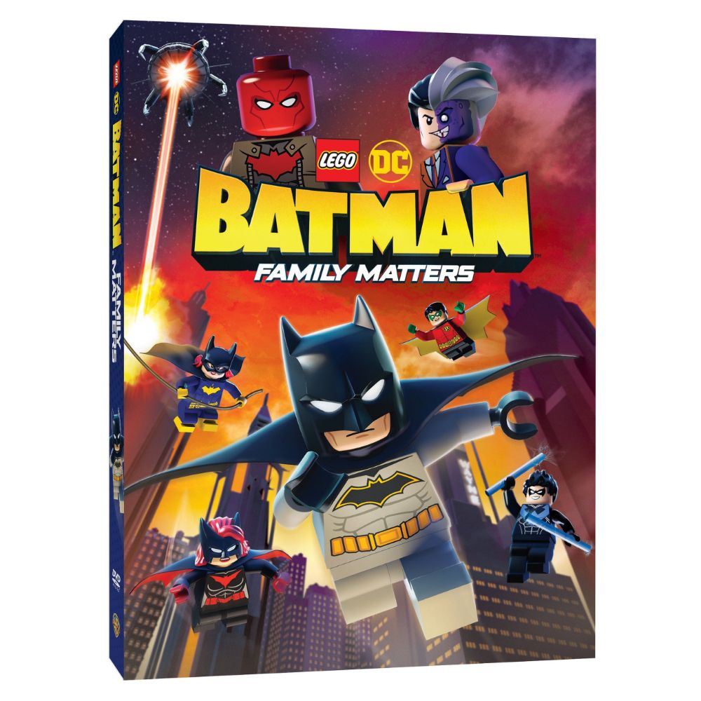 LEGO DC: Batman: Family Matters (DVD)