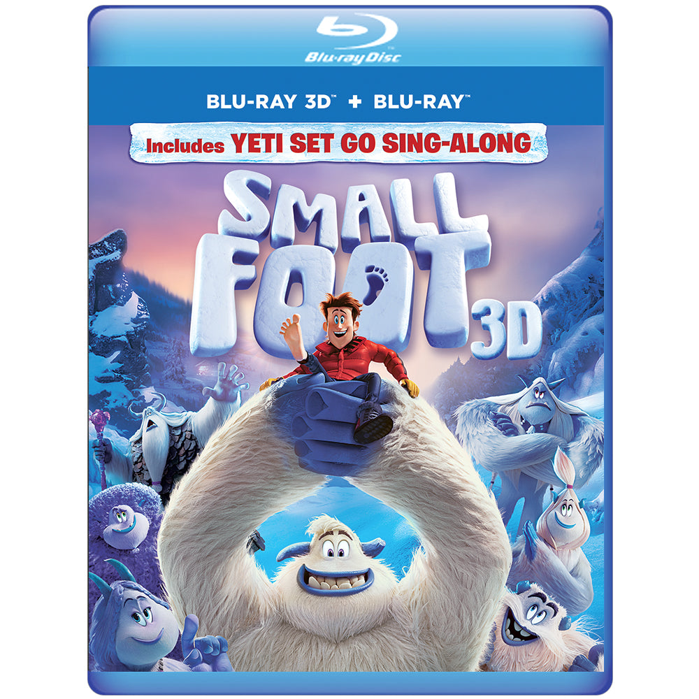 SMALLFOOT 3D (Blu-ray 3D + Blu-ray + Digital Combo Pack)