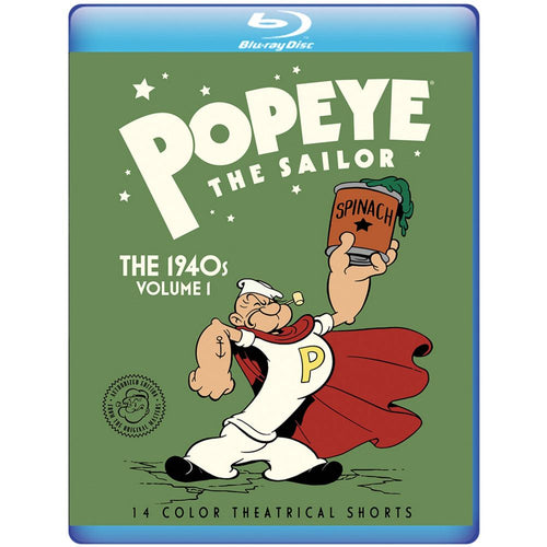 Popeye The Sailor: The 1940s Volume 1 (BD)