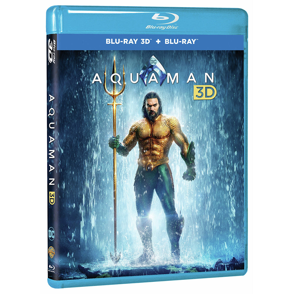 Aquaman 3D (Blu-ray 3D + Blu-ray + Digital Combo Pack)