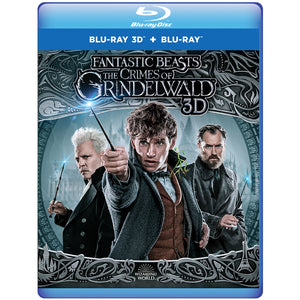 Fantastic Beasts: The Crimes of Grindelwald 3D (Blu-ray 3D + Blu-ray + Digital Combo Pack)