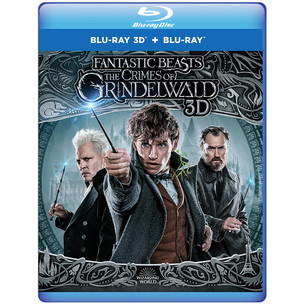 Fantastic Beasts: The Crimes of Grindelwald 3D (Blu-ray 3D + Blu-ray)