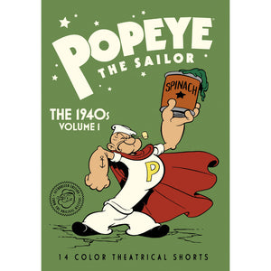 Popeye the Sailor: The 1940s Volume 1 (MOD)