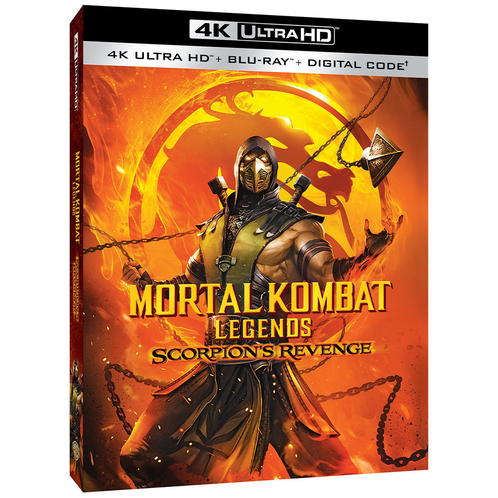 Mortal Kombat Legends: Scorpion's Revenge (4K UHD)