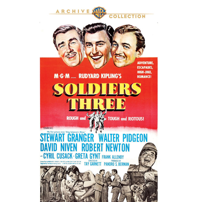 Soldiers Three (1951) (MOD)