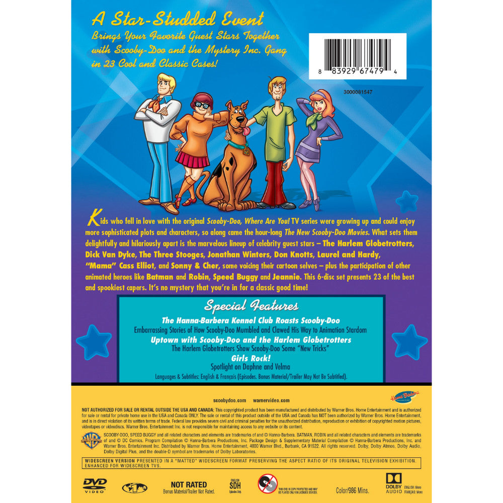 814020dadcf The New Scooby-Doo Movies: The (Almost) Complete Collection (DVD ...
