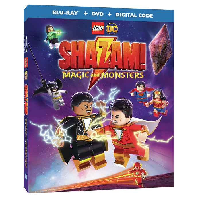 LEGO DC: Shazam: Magic and Monsters (BD)