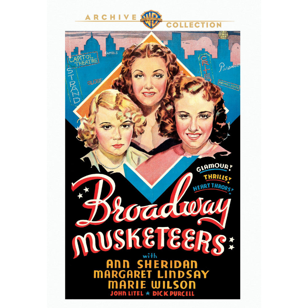 Broadway Musketeers (1938) (MOD)