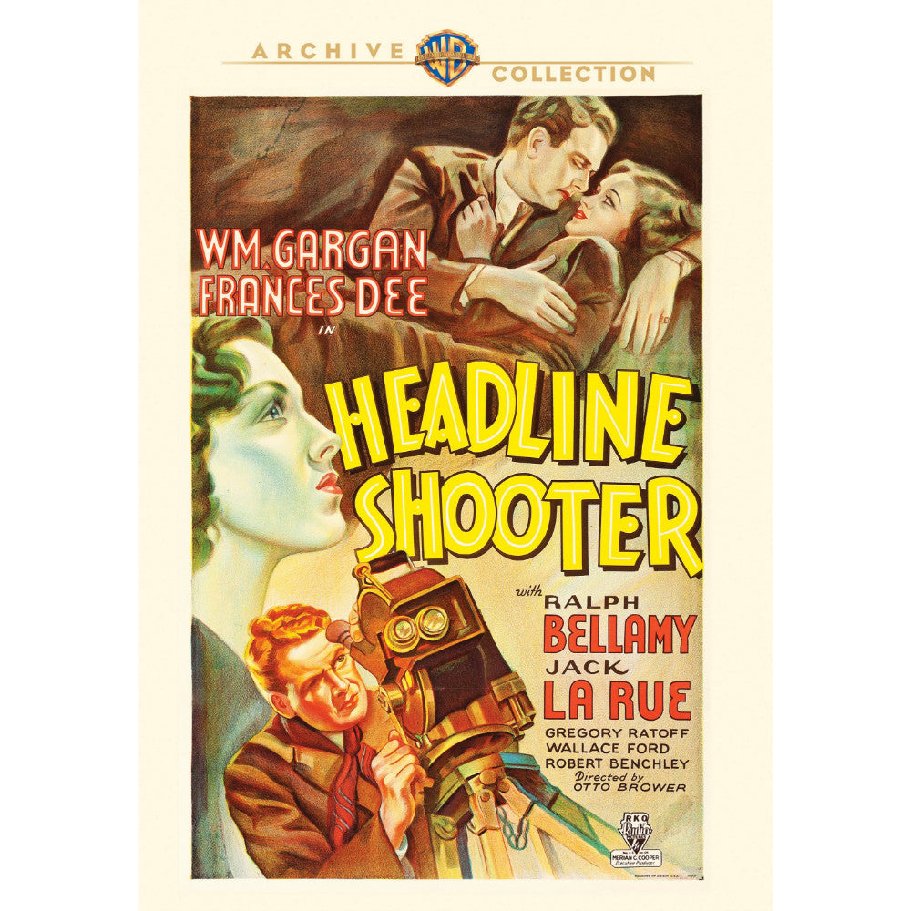Headline Shooter (1933) (MOD)