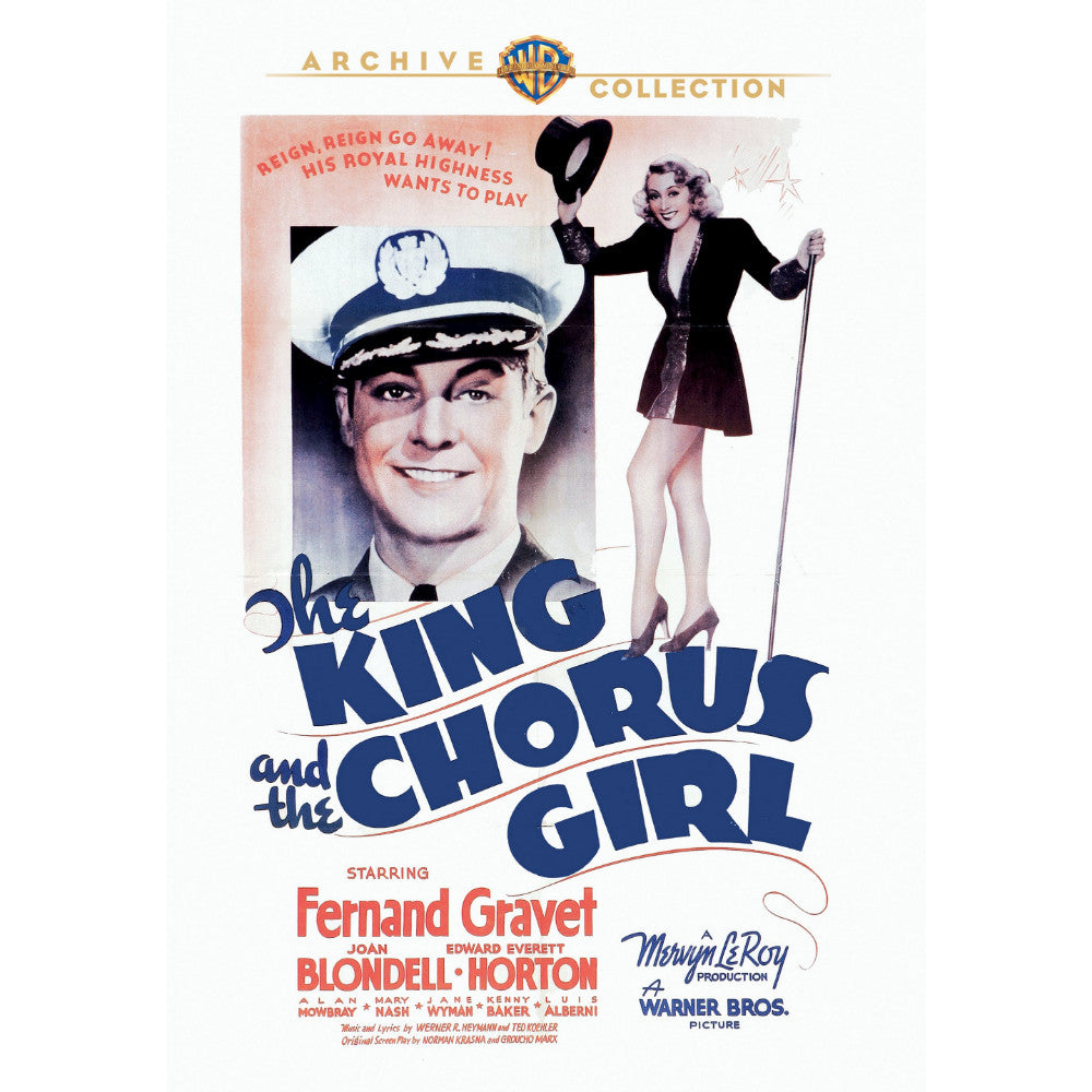 The King and the Chorus Girl (1937) (MOD)
