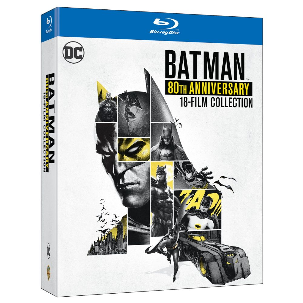 Batman 80th Anniversary 18-Film Collection (BD)