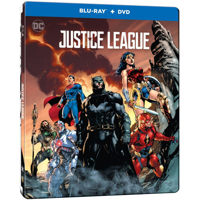 Justice League (Illustrated Steelbook) (BD)