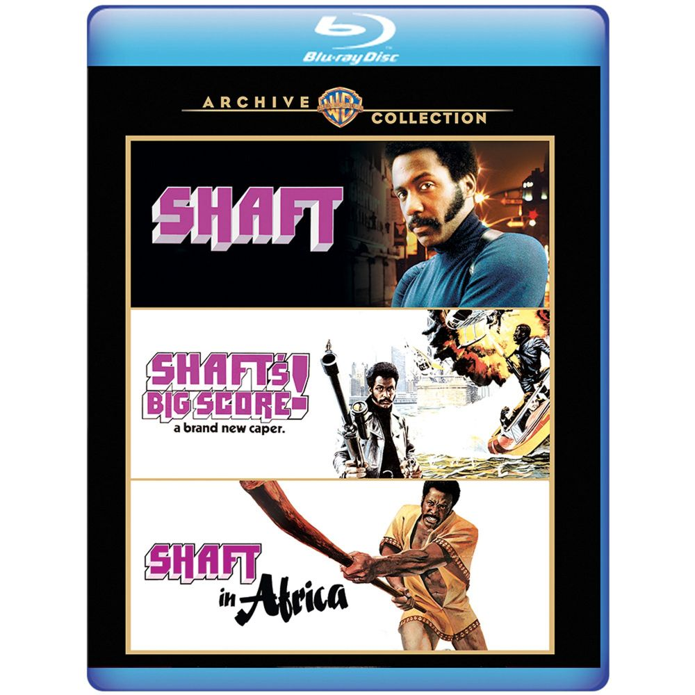 Shaft Triple Feature (BD)
