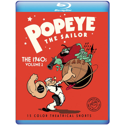 Popeye The Sailor: The 1940s Volume 2 (BD)