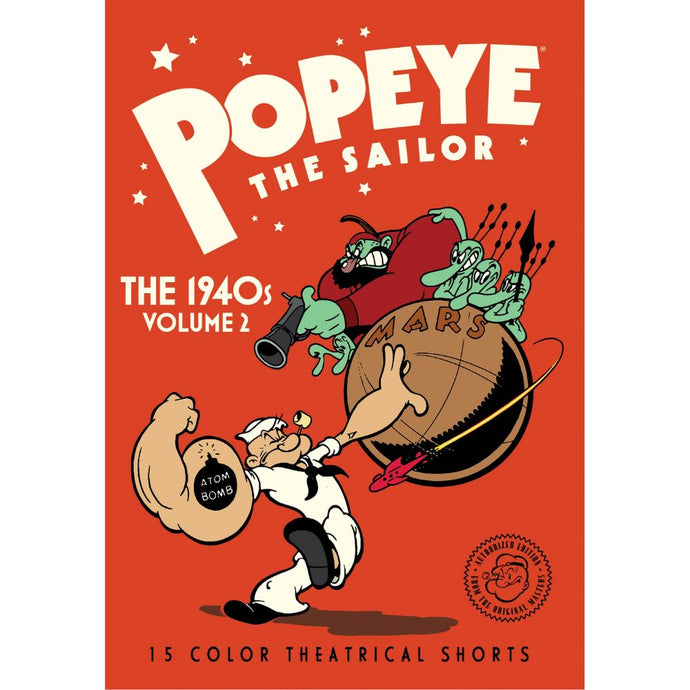 Popeye The Sailor: The 1940s Volume 2 (MOD)